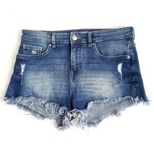 H&M Denim Jean Mini Shorts